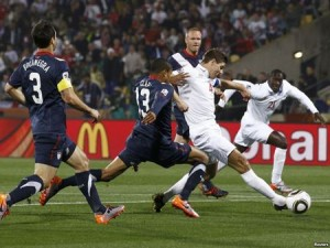 ЧМ-2010. Матч с США